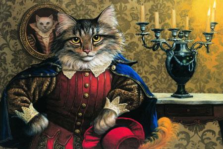 Читать сказку кот в сапогах краткое