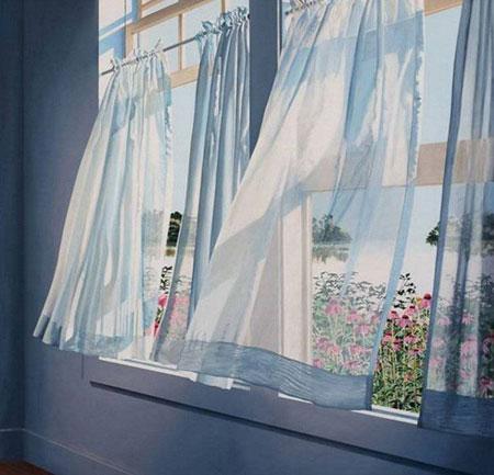 Иллюстрация к стихотворению Плещеева Весна (опять весной с окно мое пахнуло)