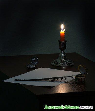Фото иллюстрация к стихотворению Бальмонта К.Д. 'Как я пишу стихи'