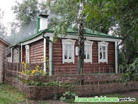Фото иллюстрация к стихотворению Есенина С.А. 'Я покинул родимый дом'