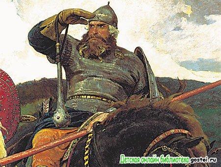 Иллюстрация к стихотворению Толстого А.К. 'Илья Муромец'