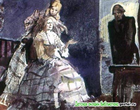 Барыня приказывает Гавриле избавиться от Муму