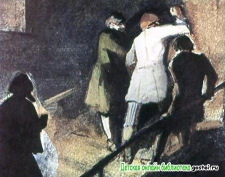 Пять человек кинулись к каморке Герасима