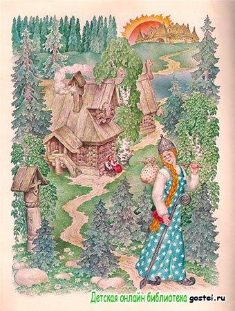 Марьюшка отправляется на поиски Финиста - ясного сокола