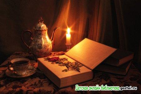 Иллюстрация к стихотворению Пушкина Цветок